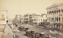 Old Court House Street looking north [Calcutta]